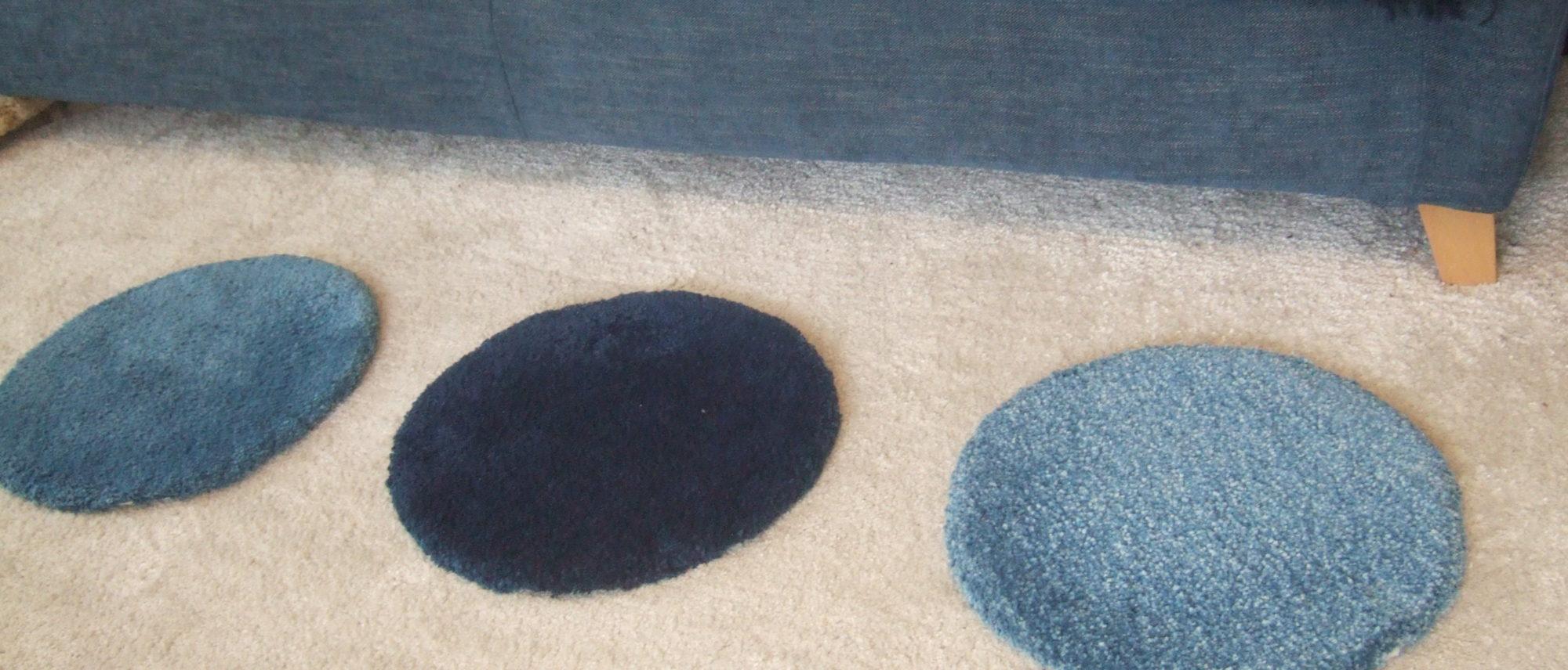 阿波藍の円座