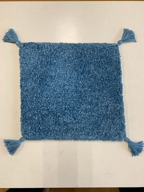 阿波藍の敷物(ざぶとん)37X37cm